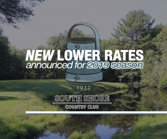 South Shore Country Club New Lower Rates for 2019